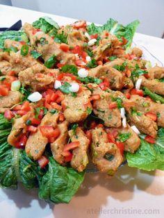 Potato + Bulgur Vegetarian Lettuce Wraps, an Armenian recipe (Pertudjig), armenian + middle eastern food
