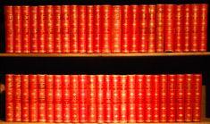 The Waverley Novels by Sir Walter Scott in 48 volumes published by A & C Black, Edinburgh, 1878/9 Wonderful gilt leather bindings.