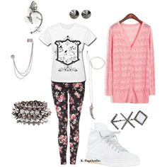 exo kris outfit, created by chichi23 on Polyvore