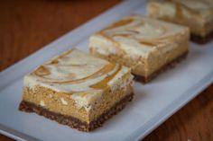 Pumpkin Pie Cheesecake Bars by Irvin Lin of Eat the Love | www.eatthelove.com | #pumpkin #cheesecake