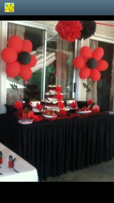Ladybugs baby showers