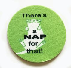 There's a NAP for that  Car coasters for your by spreadblessings