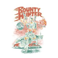 Bounty Hunter - BeastPop - Artists | TeeFury