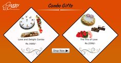Sometimes just a gift is not enough and we totally understand the confusion. That is why we have hampers consisting of 2 or more gifts, making things easier for you. #Gifts #Offers #Gifthampers #Combooffers