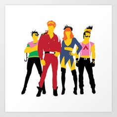 Class of 1984 Art Print by Andy Rohr - $18.00