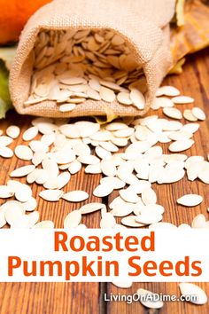 Roasted Pumpkin Seeds Recipe - 16 Of The BEST Pumpkins Recipes