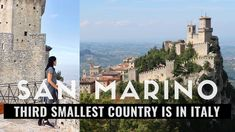 San Marino: Europe's THIRD SMALLEST COUNTRY is in ITALY | San Marino Tra...