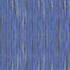 Scandinavian Wallpapre Blue Vintage Wood