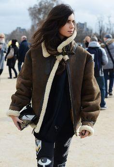 Streetstyle Tommy Ton at Paris Fashion Week Fall 2014 ~~ stylegingerly.com