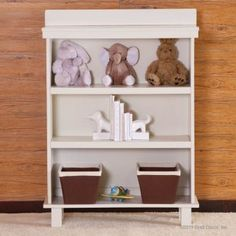 This Bratt Decor Manhattan Bookcase in white is JPMA, CPSC & ASTM certified. Free shipping!