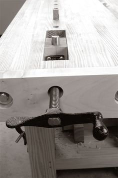 The best thing about this weblog (besides attending the endless cocaine parties) is getting to hear the opinions of other woodworkers. After posting photos of the wagon vise I adapted from the circa 1920s La Forge Royale catalog, I received a lot of emails from people who suspected what I suspected: The tail end of the wagon vise looked weak. The feedback was a like having a dozen voices in …