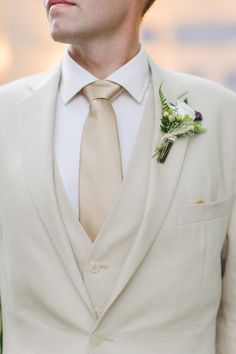 Summer Groom | See the wedding on SMP: http://www.StyleMePretty.com/mid-atlantic-weddings/2013/12/12/vintage-pittsboro-north-carolina-wedding/ La Brisa Photography