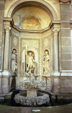 Teatro del agua: Villa Aldobrandini, Frascati