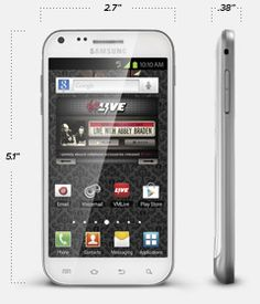 Samsung Galaxy II Android Prepaid Cell Phone | Virgin Mobile USA. * I WANT IT! *