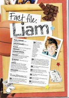 Fact file - LIAM PAYNE
