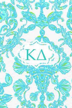 Kappa Delta Lilly monogram iPhone background!  Send requests to Jenia.litprobs@gmail.com