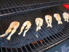 Recipe--the best grilled frog legs