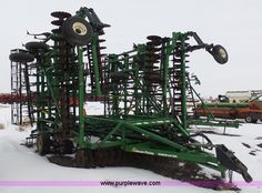 Great Plains 7548 Discovator Series VII disk   Item BH9434 selling at Wednesday April 13 Ag Equipment Auction   Purple Wave, Inc.