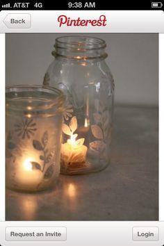 Glass jar ideas