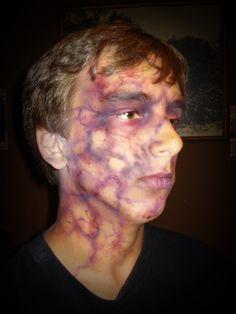 Zombie Crawl 2009 #MikeBmakeup http://www.facebook.com/MikeBMakeup special fx gory Halloween makeup