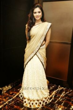 kerala half saree - Google Search