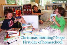 Homeschooling with Sonlight Curriculum!