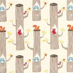 cream birch tree trunk organic fabric with owl squirrel (per 0.5m multiple) by Kawaii, http://www.amazon.com/dp/B009UQBP7C/ref=cm_sw_r_pi_dp_snwIrb1RNC65X