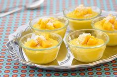 Two Great Flavors in on Dessert! Mango-Coconut Pudding @The Whole Life Nutrition Kitchen