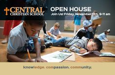 Join us for Open House Nov 11! www.centralschoolstl.org/admissions/admissions-open-house-rsvp