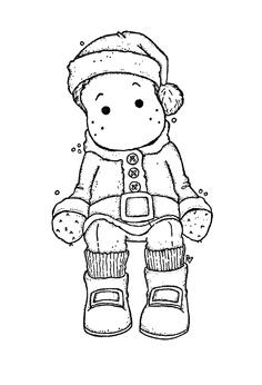 edwin habillé en Père Noël