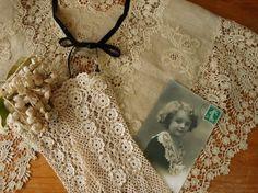 Irish crochet  lace!