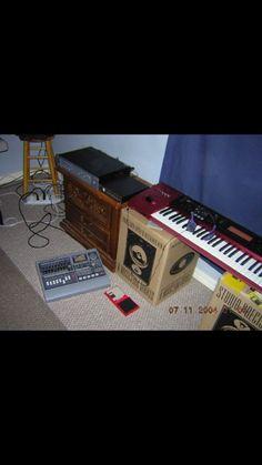 #Korg #KARMA ...#2003 #2004 #StephenKay (K.A.R.M.A Kay Algorthmic Realtime Music Architecture)   #Roland VS-880 #2003 #2004