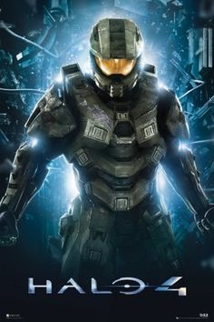 Halo 4 - Teaser Video Game Poster