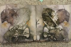 Tutorial on Rust and Plant Printed Artist Book