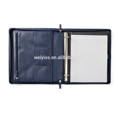 Promotional Zippered Closure Executive Faux Leather A4 Portfolio With 3 Ring Binder In Tan Color - Buy Faux Leather A4 Portfolio,A4 Leather Portfolio With Zipper Closure,A4 Portfolio Binder Product on Alibaba.com