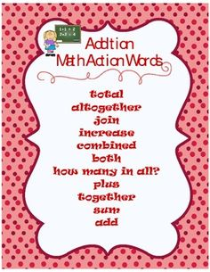 addition words