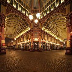 """Leaden hall Market, London, England."