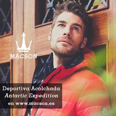 "Chaqueta Deportiva Acolchada ""Antartic Expedition"" de Macson. Todo para el Otoño / Tot per a la Tardor / Everything for the Fall."