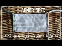 Tuto Couture Masque barrière Afnor Spec - Version améliorée | Cecile - YouTube Diy Mask, Cecile, Virus, Points, Sewing, Best Face Mask, Protective Mask, Sewing Projects, Filter