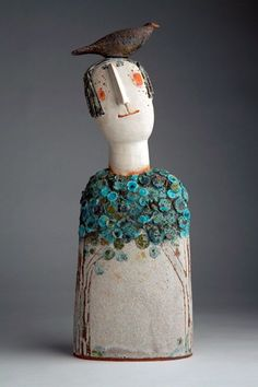 Pic Ceramics sculpture body Suggestions Jane Muir Newest Pic Ceramics sculpture body Suggestions Jane Muir Bird Head Butterflies by Jane Muir these are kind of cheesy, but I like the idea. 1 million+ Stunning Free Images to Use Anywhere Pottery Sculpture, Sculpture Clay, Photo Sculpture, Slab Pottery, Ceramic Pottery, Ceramic Sculpture Figurative, Cerámica Ideas, Ceramic Figures, Paperclay