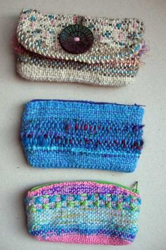 Ruth's weaving projects