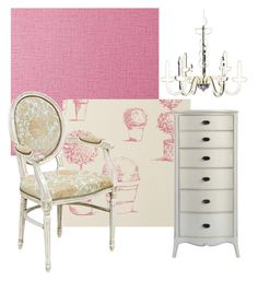 """In the Pink"" by serendipityhome on Polyvore featuring interior, interiors, interior design, home, home decor and interior decorating"