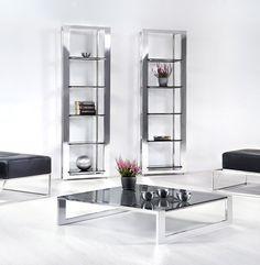 Euforia expo #showcase #design by Lestrocasa Firenze #interiordesign #home #steel #modern #glass #Lestrocasa