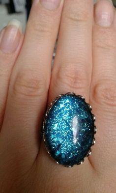 Nail polish ring £4 www.facebook.com/IrisaJewellery