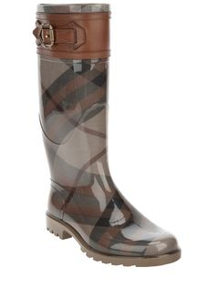Wellington boots from Burberry