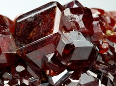 GROSSULAR GARNET var HESSONITE Minerals from Val d'Ala, Torino Province, Piedmont, Italy, Europe at Crystal Classics