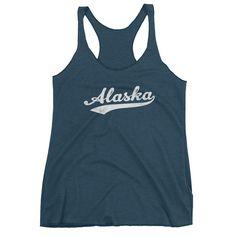 Vintage Alaska AK Women's Racerback Tank Top – Jim Shorts