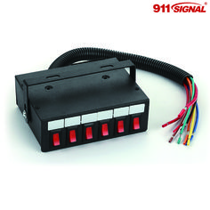 960 Switch from 911 Signal is a 6 button switch box to control your lights and sirens. Wires easily into your existing setup and has preset patterns.