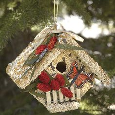 Just found this Edible Birdhouse - Wren House -- Orvis on Orvis.com!