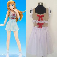Onecos My Little Sister Can't Be This Cute Kousaka Kirino Cosplay Costume >>> Click image for more details.